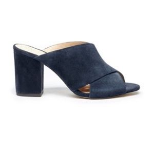 Sole Society Suede Mules